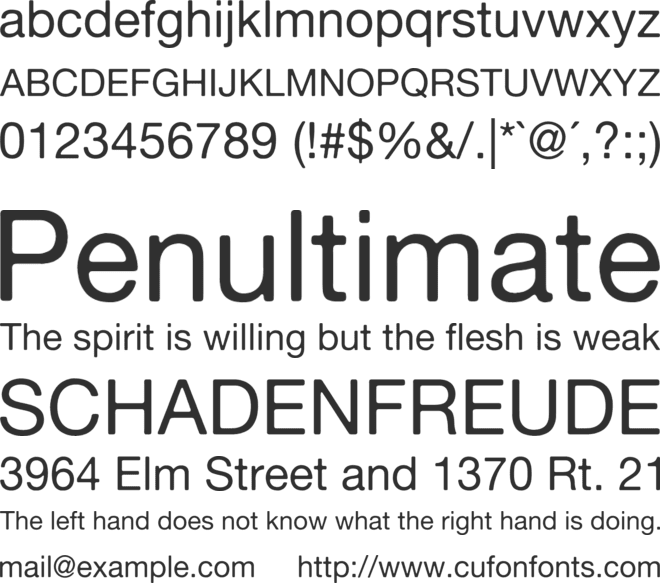 Neue Haas Grotesk Text Pro Font Family : Download Free for