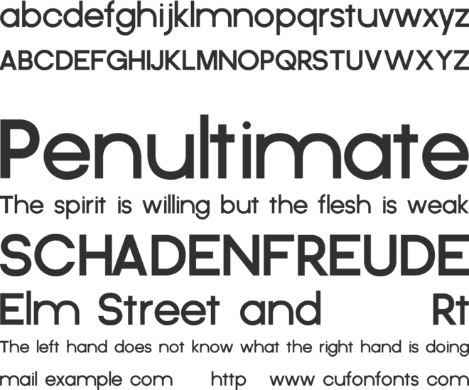 Criticized font preview