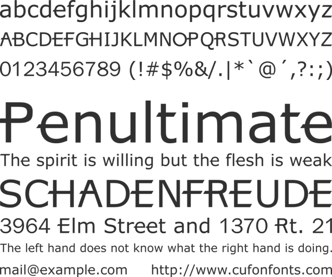 X360 font preview