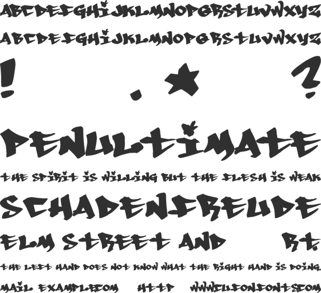 Whoa! font preview