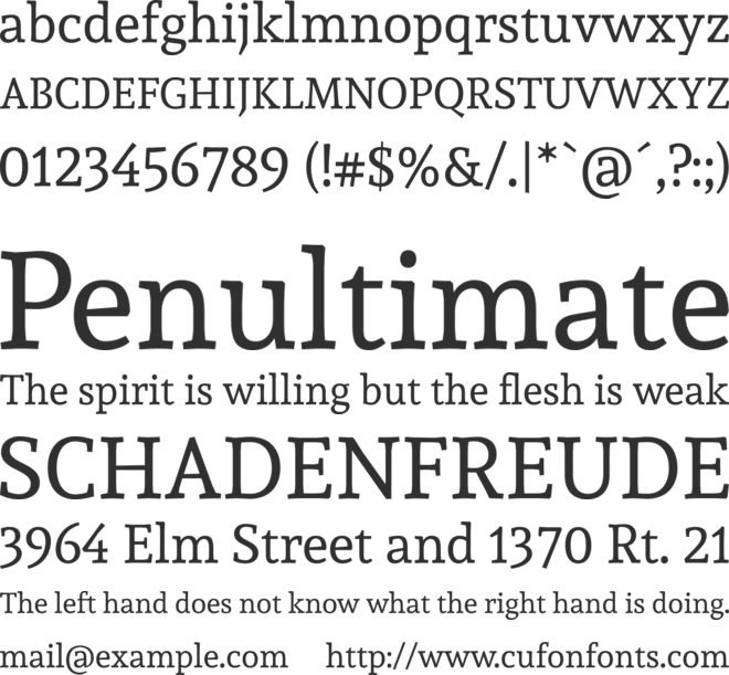 Andada windows font free for personal.
