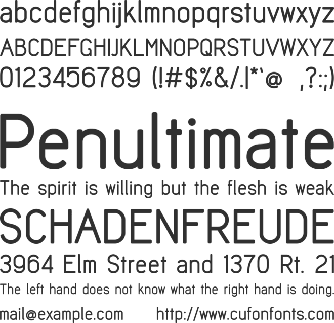 EDPenSook font preview