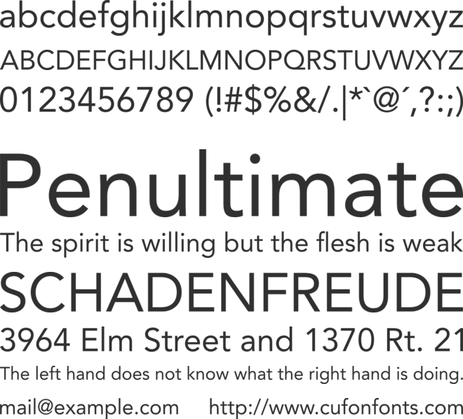 Avenir LT Std Font Family : Download Free for Desktop & Webfont