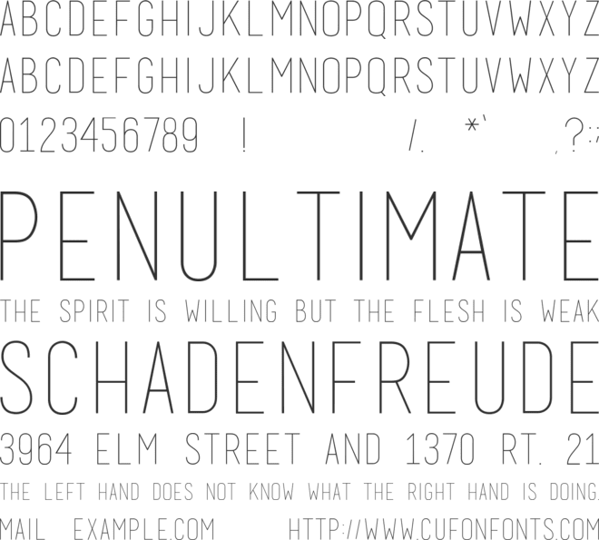 basic title font font preview