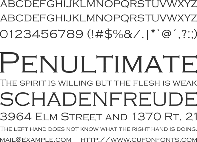 copperplate 33bc font