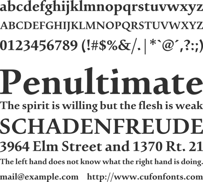 Urdu Typesetting font preview