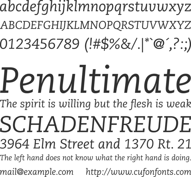 Caecilia LT Std Font Family : Download Free for Desktop & Webfont