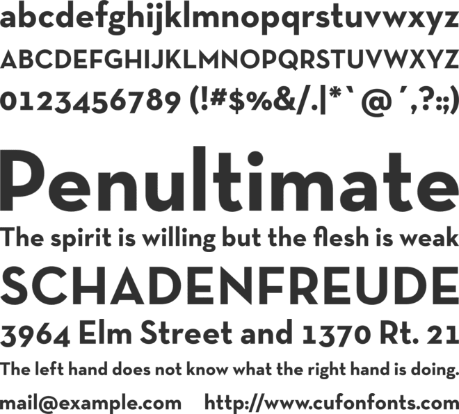 Neutra Text TF font preview