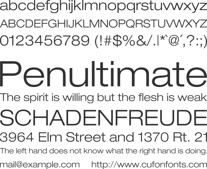antenna cond medium font free download