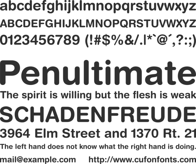 police helvetica rounded