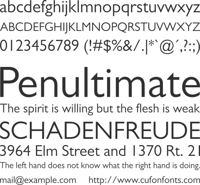 gill sans mt for mac download