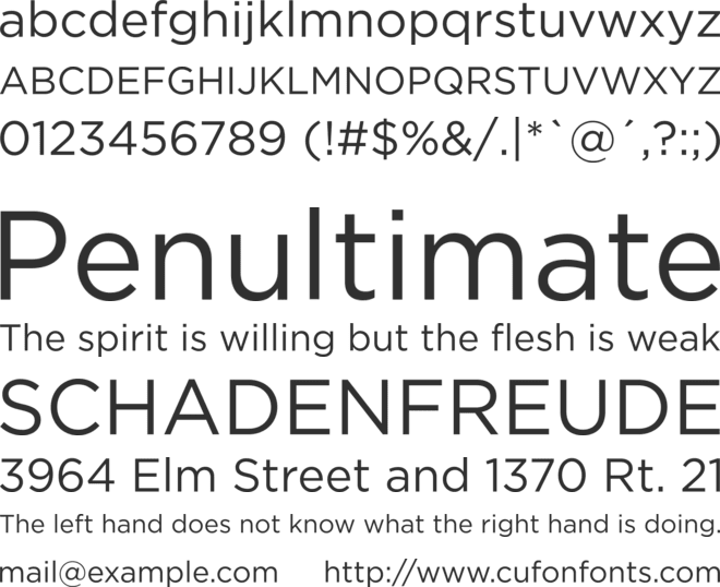 Bahnschrift Font Family : Download Free for Desktop & Webfont