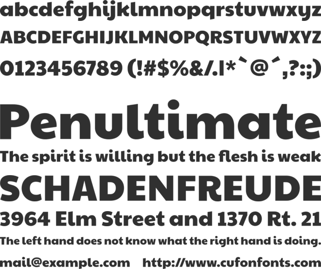 Paytone One font preview