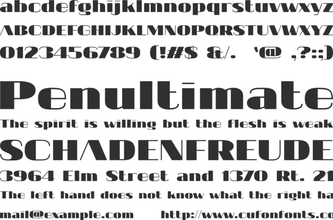 20db font preview