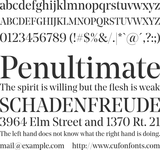 Noe Display font preview