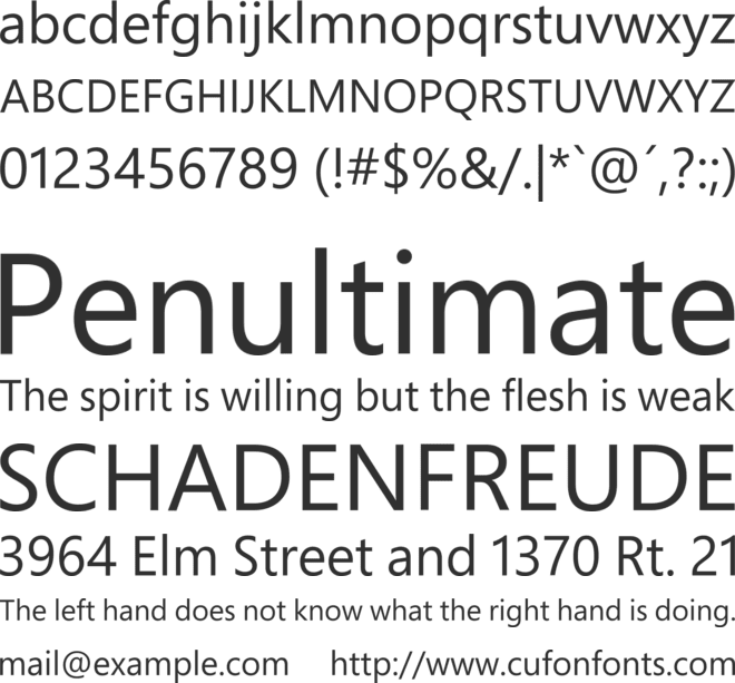 Berthold Akzidenz Grotesk BE Font - Free Cufon and CSS Web