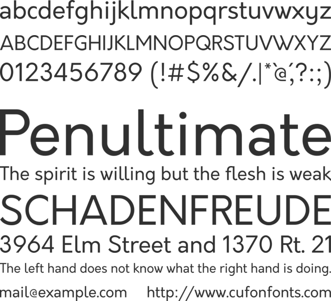 Download Oakes Font
