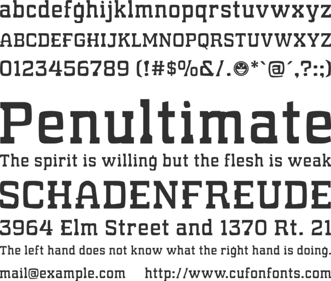 What Sound Pounds? font preview