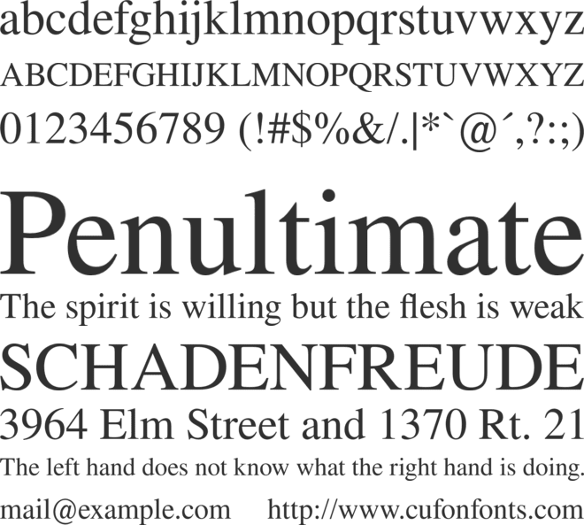 DIN Alternate Font - Free Cufon and CSS Web Fonts @font-face
