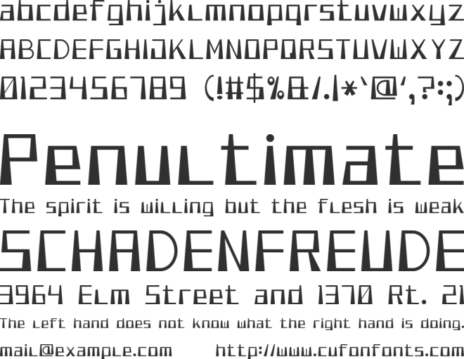 Smooth Pixel 7 font preview