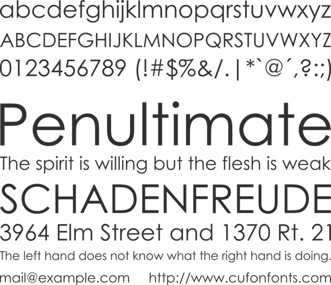 Century Gothic Font Family : Download Free for Desktop & Webfont
