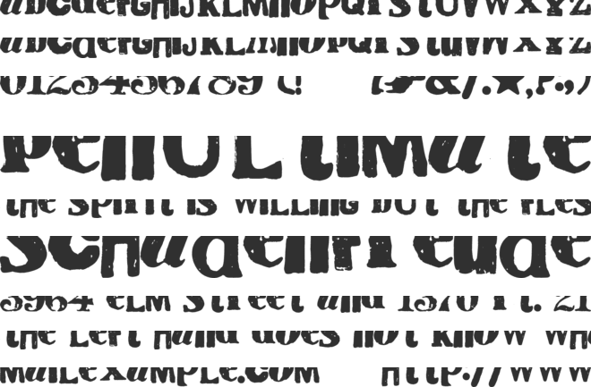 Cry Kitty font preview