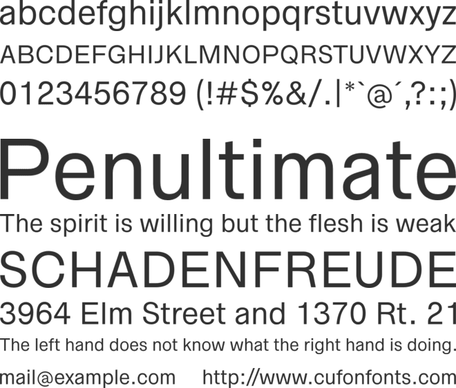 Zwizz font preview