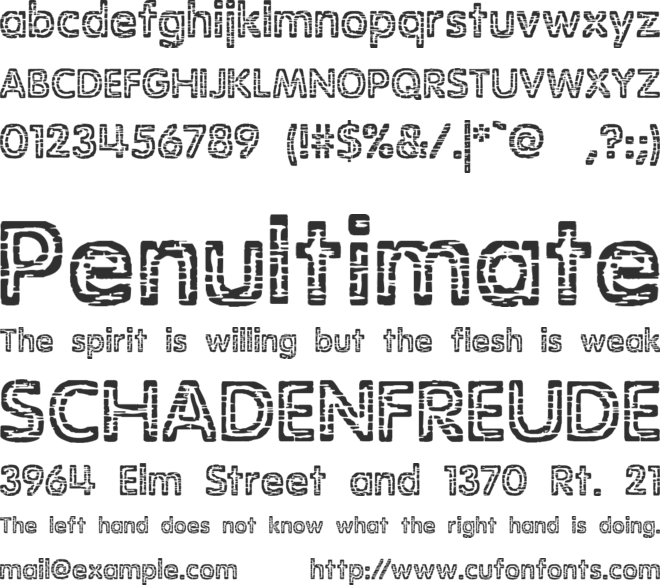 Stagnation BRK Font Download Free PC/Mac and Web Font