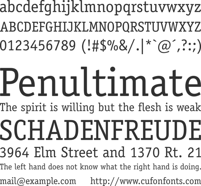 ITC Officina Serif Std font preview