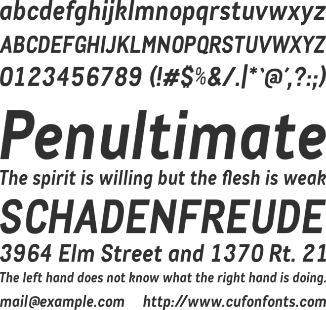 CACula-BoldIt font preview