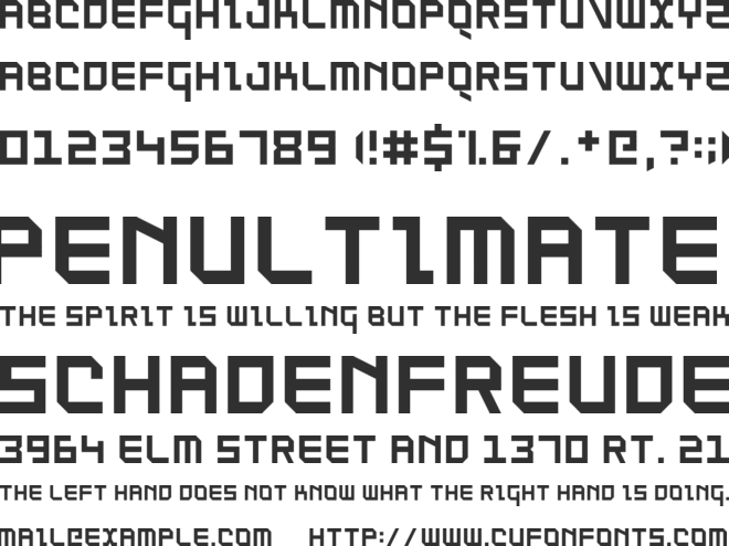 SuperThing NBP font preview