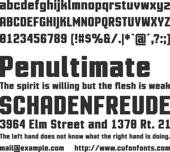 Motion Control Neue Lite font preview