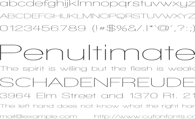 Walkway UltraExpand font preview