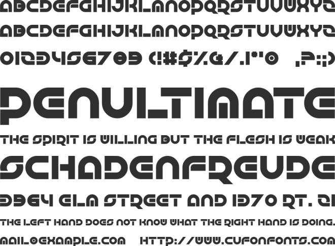 Greatsby Gat font preview