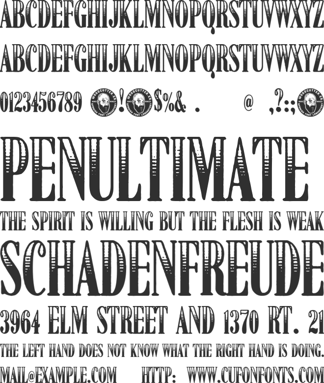 American Dreamer font preview