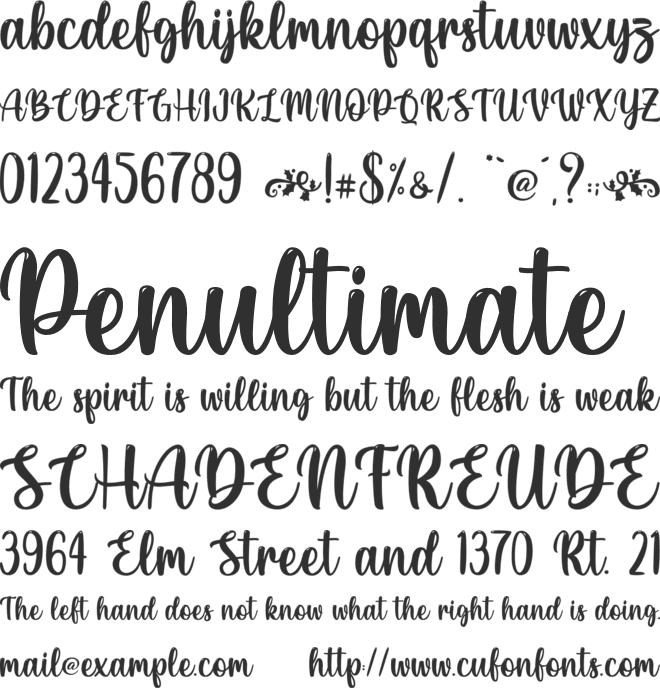 Christmas Bell - Personal Use font preview