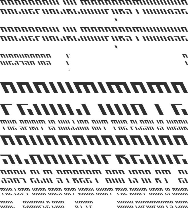 Acid Visions 1986 One font preview