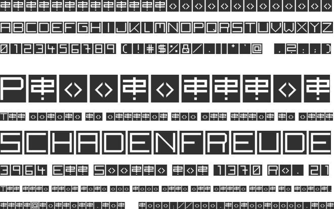 Back to heavy coat fat ground font preview