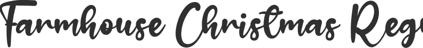 Farmhouse Christmas font download