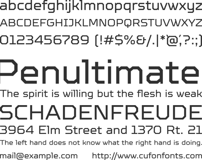 TTOctosquares- font preview
