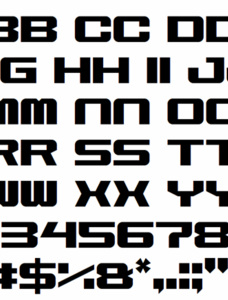 Space Marine Font
