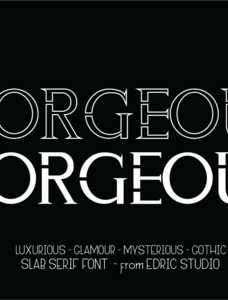 ZORGEOUS Font Family