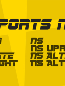 SF Sports Night Font Family