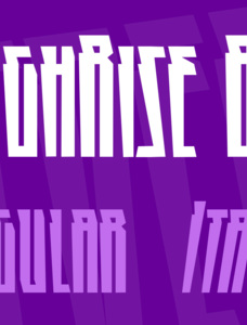 HighRise BB Font Family