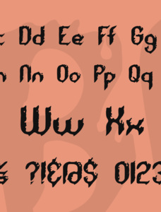 Rough Day BRK Font
