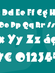 Arbuckle Inline NF Font Family