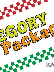 Gregory Packaging Font