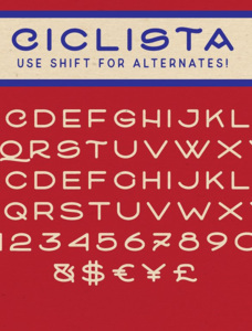 Ciclista Font Family