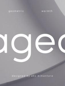 Ageo Personal Use Font Family