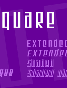 SF Square Root Font Family
